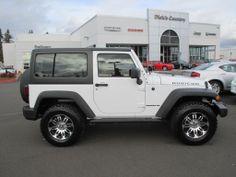 Used 2012 Jeep Wrangler Rubicon Hard Top....Picking it up tomorrow!!!!