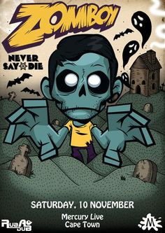 This is zomboy! He's doing great music my favorite track of him is called nuclear. This is a realy cool dubstep track!