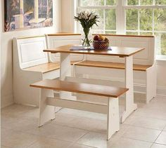 Furniture Corner Nook Dining Set