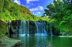 Talofofo Falls, Guam, in HD. I used to swim here as a little girl.