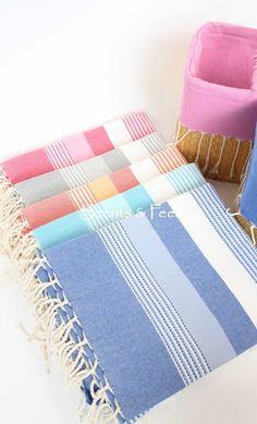 Fouta Ibiza Thin Stripes - love this beach towel Turkish Bath Towels, Turkish Cotton Towels, Luxury Beach Towels, Tiny Beach House, Striped Towels, Linen Curtains, Bath Towel Sets, Tear, Bed Covers