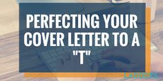 Use the t-format to tailor your cover letters for each job application.