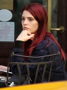 Ashley Greene is now a redhead! Do you like the change? http://stylenews.peoplestylewatch.com/2012/10/21/ashley-greene-hair-color-red/#
