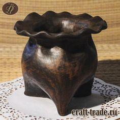 Керамический мешочек-оберег для запекания, соли, мёда или варенья купить в интернет-магазине Рукоделец  #рукоделец #магазин #handmade #керамика #pottery #керамическая_посуда