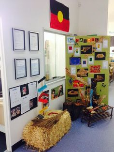 A great way to set up your classroom for Naidoc Week.