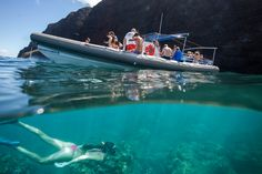 Come adventure with us to the Napali Coast on our unique Kauai boat tour.
