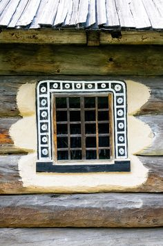 Detail of a window of a typical ukrainian antique house by Alain De Maximy Antique House, Gates, Kiev Ukraine, Through The Window, Interior Exterior, Doorway, Door Knobs, Stairways, Windows And Doors