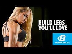 Build Legs You'll Love - Ashley Hoffmann Legs Workout - Bodybuilding.com - YouTube