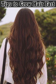 9 Ways to Grow Long Hair Fast | Health Villas