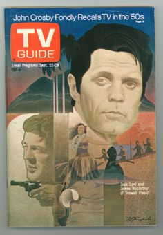 Vintage TV Guide Sept. 22- 28.... cover with Jack Lord (Hawaii 5-0) and James MacArthur