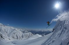 #helicopter skiing in #Gudauri