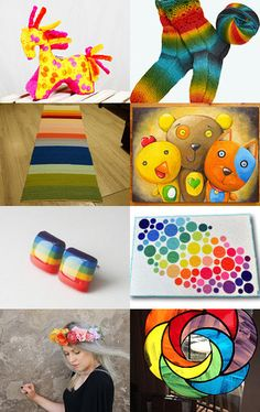 Full of colours! by Aleksandra Florek on Etsy--Pinned with TreasuryPin.com