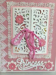 "Baby Girl ""Princess""  Handmade Scrapbook Mini Album #Handmade"