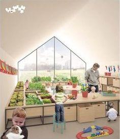 Veille action pour de saines habitudes de vie - Des garderies implantées dans des fermes urbaines : une vision du futur?