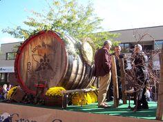 Grape and Wine Festival Grape Kings Float