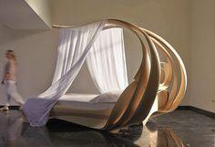Elegant Canopy Bed by Joseph Walsh - amazing Enignum | Canopy ...