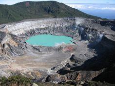 Fotografía: Destinos Reps - Volcán Poas - Cráter (Costa Rica)