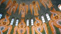 Order Of Angels, Ant Crafts, Workout For Flat Stomach, Religious Images, Byzantine, Cherub, Kai, Religion, Celestial