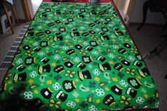 """St. Patty's Day Broadcloth 44"""" x 54"""" by monroe2830 on Etsy"""