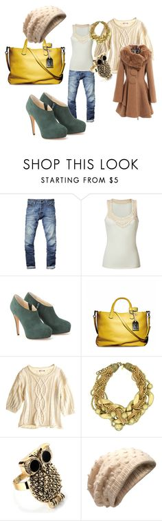 """""""Bo Ho"""" by luckyturtlegirl ❤ liked on Polyvore featuring Scotch & Soda, Polo Ralph Lauren, Brian Atwood, Reed Krakoff, Calypso St. Barth, Kenneth Jay Lane, CO and Ganni"""