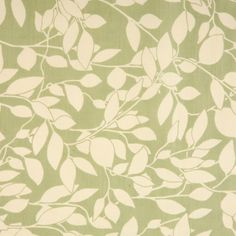 Leaf Trail Green Oilcloth Tablecloth | Wipe Easy Tablecloths