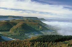 Blick über das Tal © Schwäbische Alb Tourismusverband