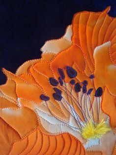 Sue Siefkin | fruit & flowers, art quilts