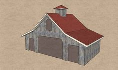 Résultat d'images pour Shipping Container Barn Plans Container Shop, Container Cabin, Container Houses, Barn Plans, Shed Plans, Cheap Prefab Homes, Man Cave And She Shed, Metal Storage Containers, Container Buildings