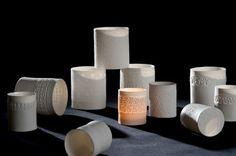 PRODUKTE Windlichter - ch-keramik - Christine Burch, Schweiz auf Keramik Magazin