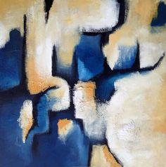 'GROUNDWATER' by Mel Sebastian Abstract Art for Sale - ART101 Art Gallery & Framing
