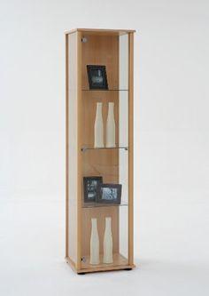 Büroschrank weiß antik  Kommode Konsole Glas Schrank Weiß Antik Shabby Chic Vitrine Holz ...