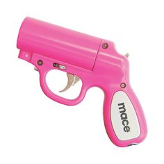 It's a mace gun!!! If only it was a keychain...that would be GREAT for those late nights at school.