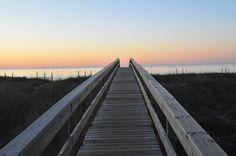 Old boardwalk