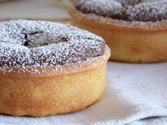 Tartelette fondant au chocolat sur lit de pâte de spéculoos, photo 2