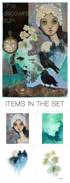 """*time discovers truth*   ""TOP ART SET"""" by karineg ❤ liked on Polyvore featuring art"