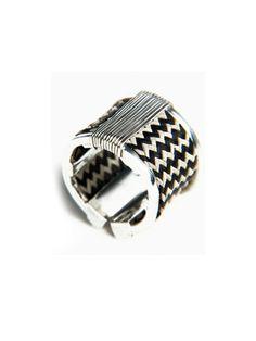 Caña Flecha Striped Ring