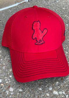 New Era St Louis Cardinals Mens Red Cooperstown Team Neo 39THIRTY Flex Hat - 59005619 Cardinals Game, St Louis Cardinals, Team Logo, Hats, Red, Hat, Hipster Hat
