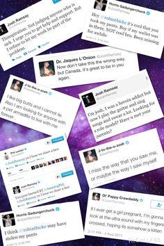 Josh ramsay tweets funny Marianas Trench {Credit: Anna Stath™} PHILS TWEET THO