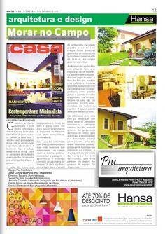 60° Jornal Bom Dia - Morar no Campo 19-10-12