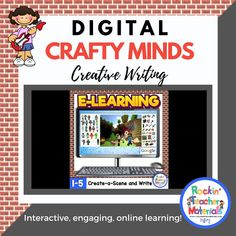 Kids still love Minecraft, but not so much writing. Well, why not combine Minecraft and writing to make an engaging activity to get students writing? What could make it even better? Make it a digital resource so there's no paper, no mess!