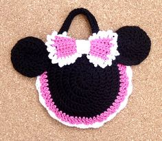 Minnie Mouse Inspired crochet purse by BeautyCrochetPattern @Tamara Durso  is this the one u wanted?