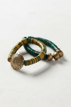 Mbali Beaded Bracelet Set #anthropologie