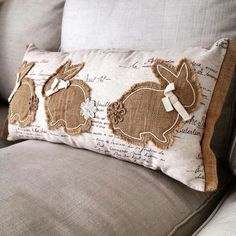 Bunny Cottage / Brown and Cream