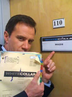Tim DeKay, up to no good.  Via Jeff Eastin's twitter (White Collar).
