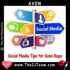 Avon Representative Tip  Top 10 Social Media Tips for Avon Reps. Avon. Find more  Avon tips @ www.MoreThanMakeupOnline.com #Avon #CJTeam #AvonRepTips #C14 #AvonTip www.MoreThanMakeupOnline.com