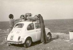 the Fiat Cinquecento was the first travel's car of the italian people.for my Italian princess:) Fiat Cinquecento, Fiat 500c, Fiat Abarth, Vespa, 500 Cars, Automobile, Italian People, Nostalgia, Italian Lifestyle