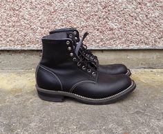 Anderson's Vegan Boots  White's Wesco Nick's Lone Wolf Chippewa Red Wing Vegan Boots, Lone Wolf, Red Wing, Timberland Boots, Trending Memes, Combat Boots, Shoes, Fashion, One Man Wolf Pack