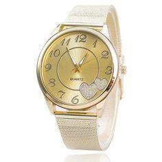 >> Click to Buy << waterproof watch Gold Mesh Band Wristwatch relojes de las mujeres #Affiliate