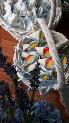 Mongolfiera in ceramica