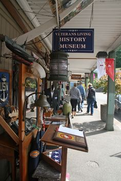 Port Orchard has a walkable downtown with quaint shops.
